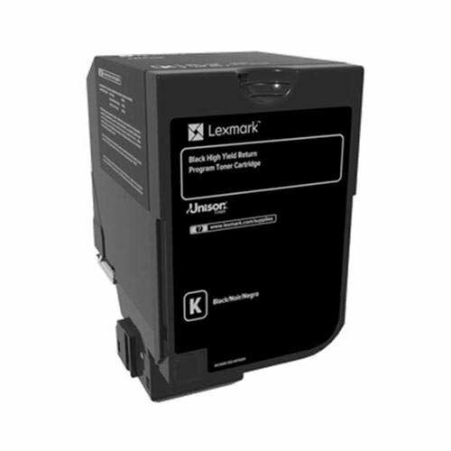 Lexmark CS720, CS725 nagy kapacitású tonerkazetta fekete /74C2HK0/