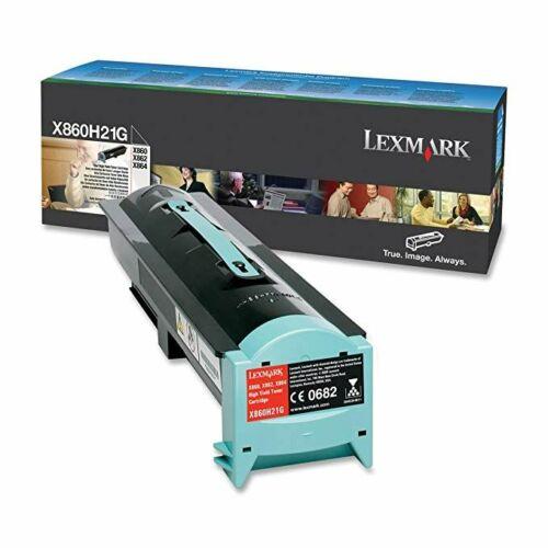 Lexmark X860e, X862e, X864e nagy kapacitású festékkazetta fekete /X860H21G/