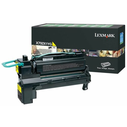 Lexmark X792 extra nagy kapacitású festékkazetta sárga /X792X1YG/