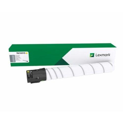 Lexmark CS923, CX921, CX922, CX923, CX924 nagy kapacitású festékkazetta sárga /76C0HY0/