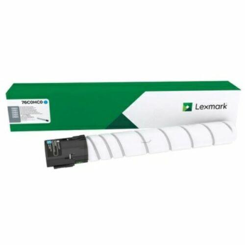 Lexmark CS923, CX921, CX922, CX923, CX924 nagy kapacitású festékkazetta ciánkék /76C0HC0/