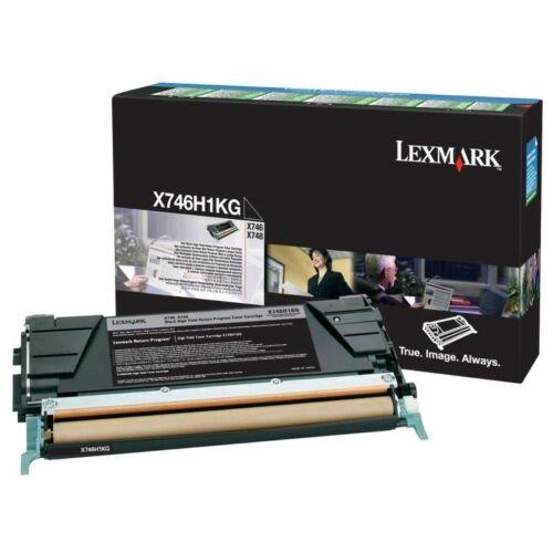 Lexmark X746, X748 nagy kapacitású festékkazetta fekete /X746H1KG/
