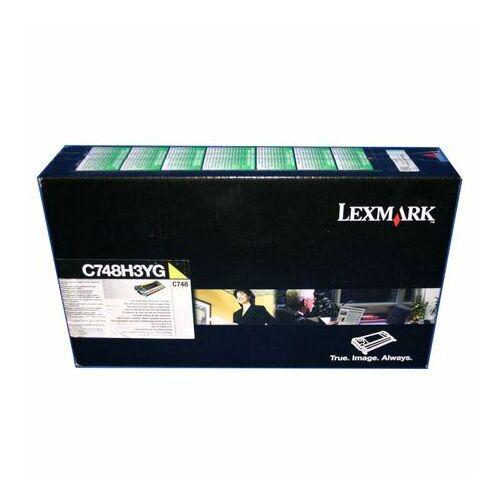 Lexmark C748H3YG toner sárga