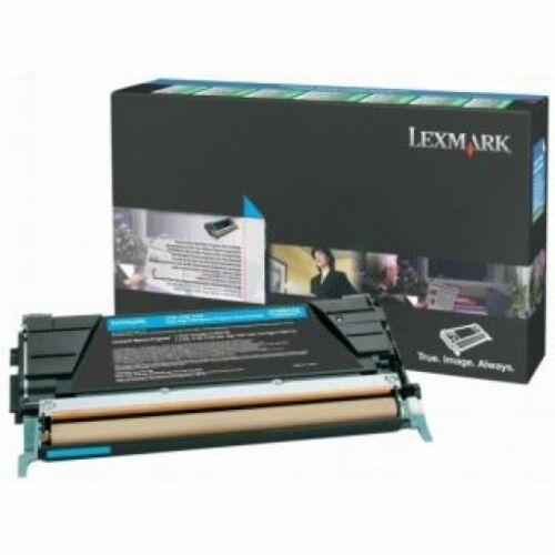 Lexmark C746A3CG toner cián