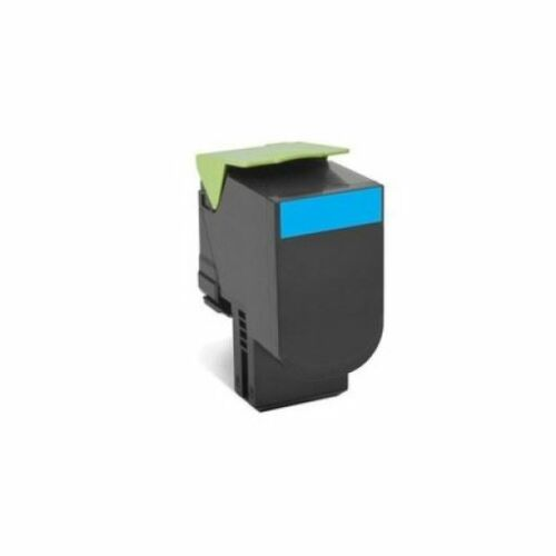 Lexmark 802HCE nagy kapacitású festékkazetta ciánkék (3k) /80C2HCE/