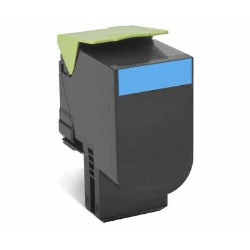 Lexmark 802HC nagy kapacitású festékkazetta ciánkék /80C2HC0/
