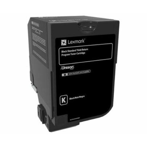 Lexmark CS720, CS725, CX725 normál kapacitású  tonerkazetta fekete /74C2SK0/