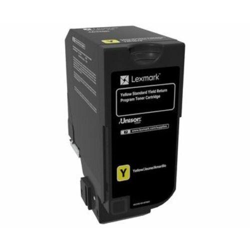 Lexmark CS720, CS725, CX725 normál kapacitású tonerkazetta sárga /74C2SY0/