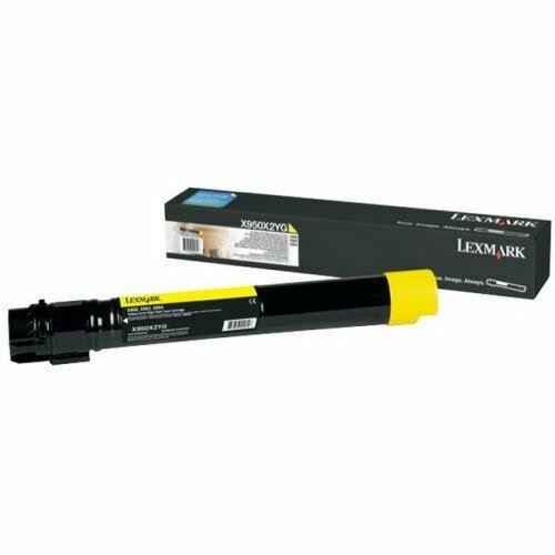 Lexmark X95x extra nagy kapacitású festékkazetta sárga /X950X2YG/