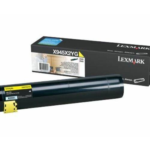 Lexmark X945X2YG sárga toner