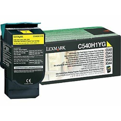Lexmark C540H1YG sárga toner