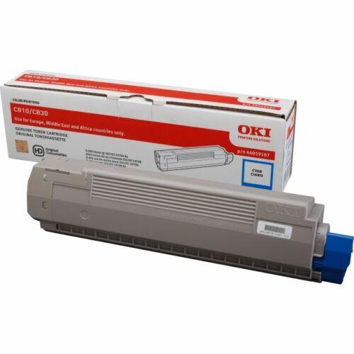 OKI 44059107 kék toner