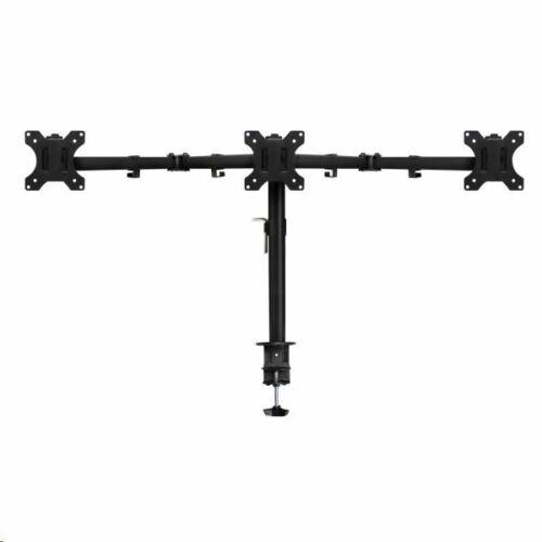 """Ewent EW1513 asztali tartó 3 monitor, max 27"""" 7kg/kar"""