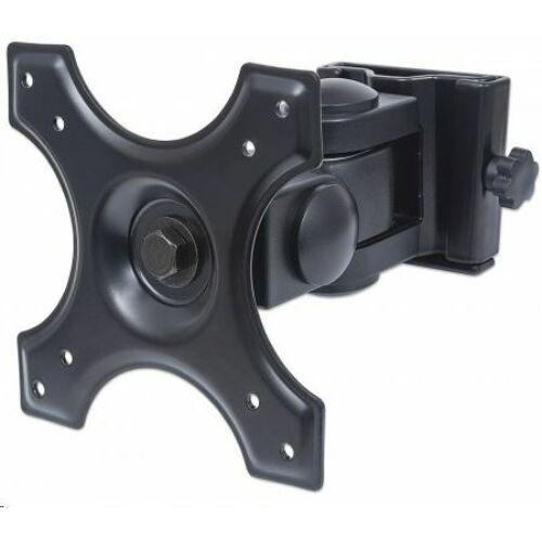 Manhattan monitor falitartó fekete /432351/