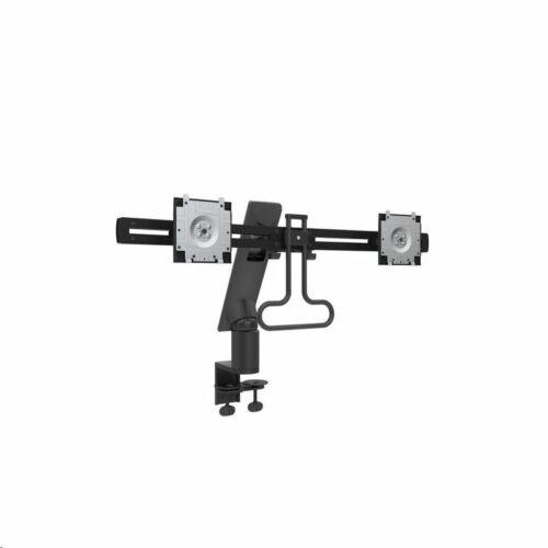DUAL MDA17 dual monitor tartó kar fekete /482-BBCE/