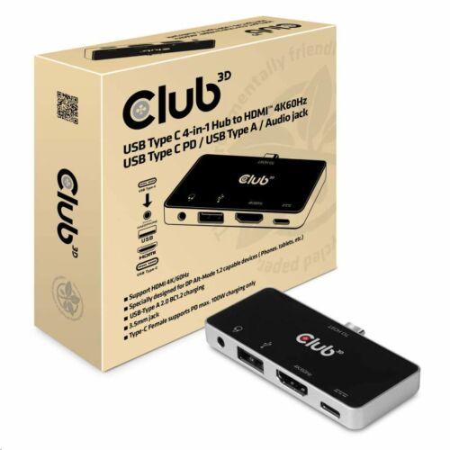 CLUB3D SenseVision univerzális notebook dokkoló USB-C /CSV-1591/