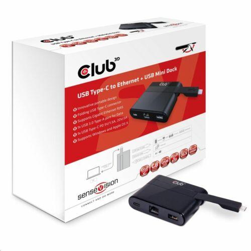 CLUB3D SenseVision univerzális dokkoló állomás USB 3.0 /CSV-1530/