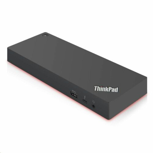 Lenovo ThinkPad Thunderbolt 3 Gen 2 notebook dokkoló 135 W tápegységgel fekete /40AN0135EU/