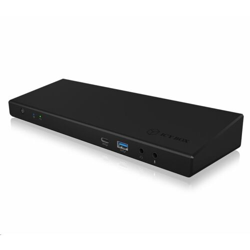 RaidSonic ICY BOX univerzális notebook dokkoló fekete (IB-DK2244AC)