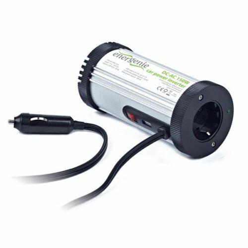 Gembird Energenie Autós inverter 150W USB port - Feszültség átalakító /EG-PWC-031/