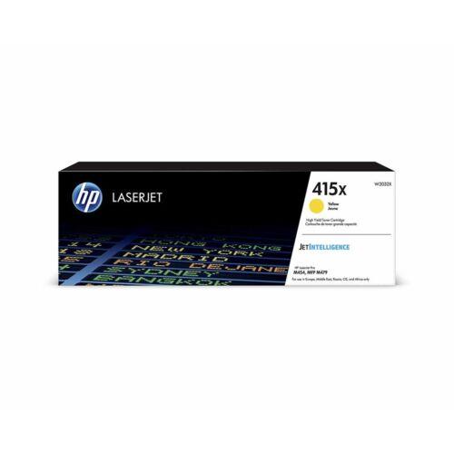 HP 415X nagy kapacitású LaserJet tonerkazetta sárga /W2032X/