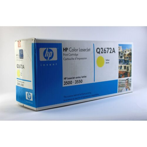 Hp Q2672A toner ORIGINAL yellow leértékelt (309A)