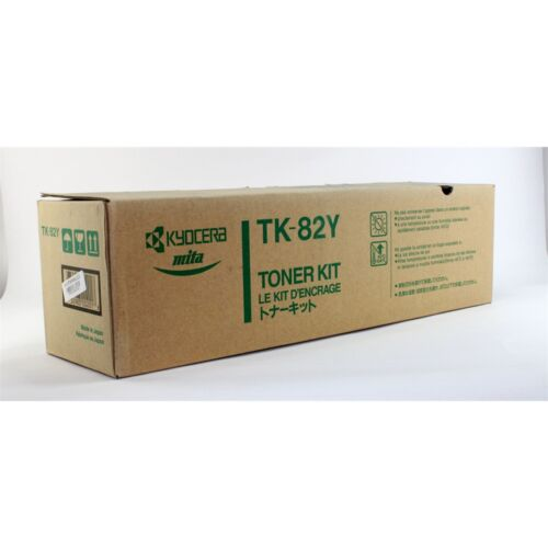 Kyocera TK82 toner ORIGINAL yellow (370093KL) leértékelt