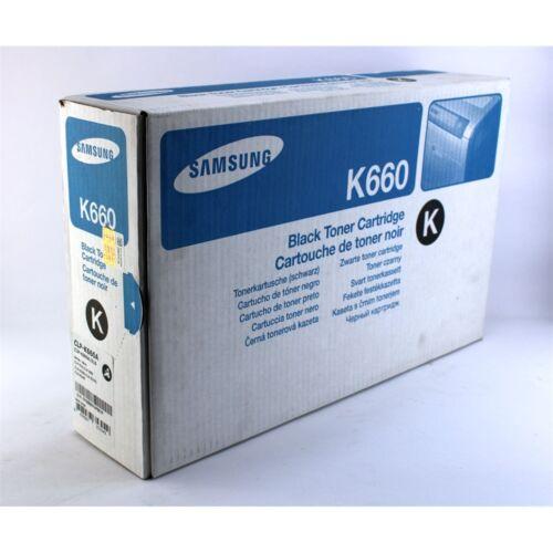Samsung CLP610/CLP660 toner ORIGINAL black 2,5K (CLP-K660A)