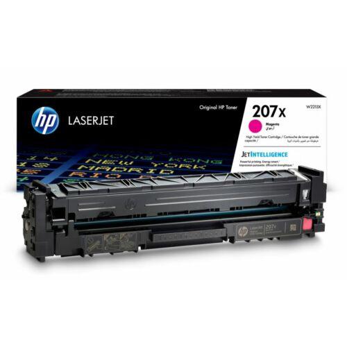 HP 207X nagy kapacitású LaserJet tonerkazetta magenta /W2213X/