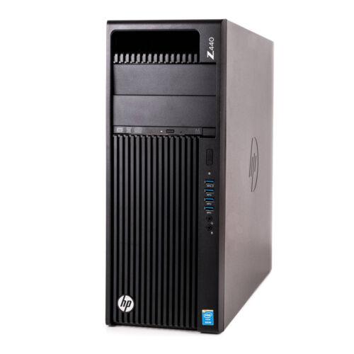 Hp Z440 Workstation; Intel Xeon E5-1650 V4 3.6Ghz/16Gb Ram/256Gb Ssd + 2Tb Hdd