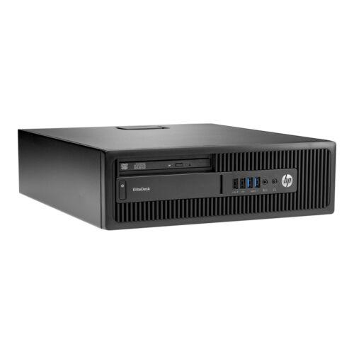 Hp Elitedesk 705 G2 Sff; Amd Pro A6-8550B 3.7Ghz/8Gb Ram/128Gb Ssd + 500Gb Hdd