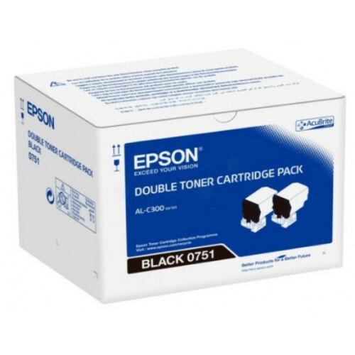 Epson C300 Toner Dupla Bk 2*7,3K /Orig/