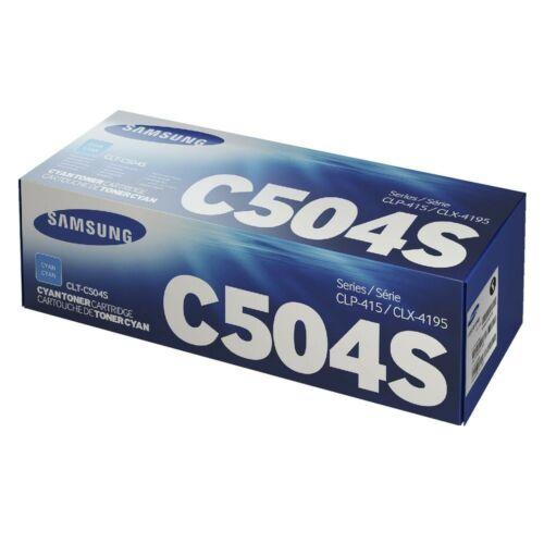 Samsung Clp 415 Cyan Toner  Clt-C504S/Els (Su025A) (Eredeti)