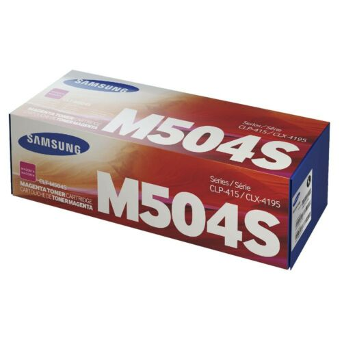 Samsung Clp 415 Magenta Toner  Clt-M504S/Els (Su292A) (Eredeti)