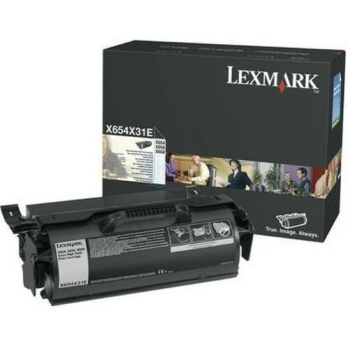 Lexmark X654/656/658 Extra High Corporate Toner 36K (Eredeti) X654X31E