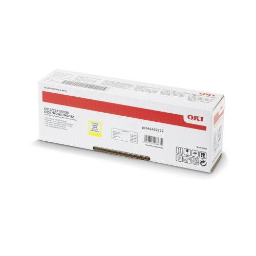 Oki C510/530/Mc562 Toner Yellow 5K (Eredeti)