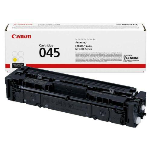 Canon Crg045 Toner Yellow /Eredeti/ Lbp611 1.300 Oldal
