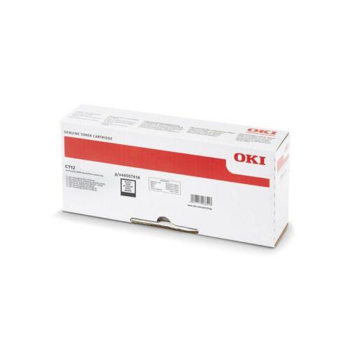 Oki C712 Toner Black 11K (Eredeti)