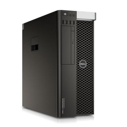 Dell Precision T5810; Xeon E5-1620 V3 3.5Ghz/16Gb Ram/256Gb Ssd + 2Tb Hdd
