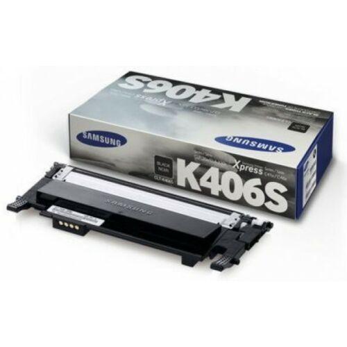 Samsung Clp 365 Black Toner  Clt-K406S/Els (Su118A) (Eredeti)