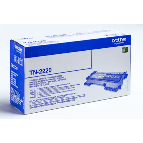 TN-2220 (2,6K) EREDETI BROTHER TONER