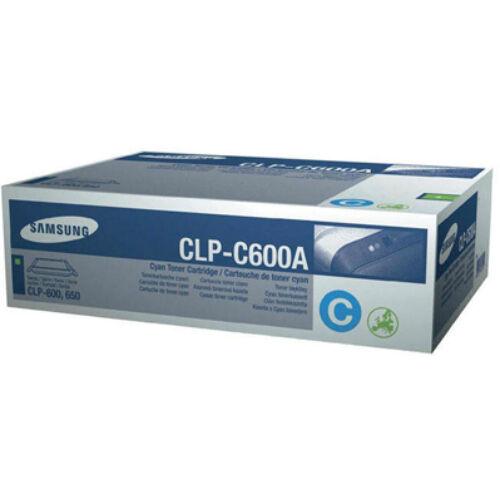CLP-600A C SAMSUNG CLP-C600A CYAN EREDETI LEÉRTÉKELT TONER